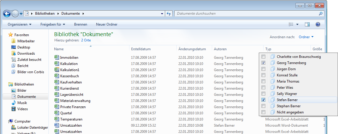 14 Den Windows-Explorer anpassen Windows-Explorer anpassen