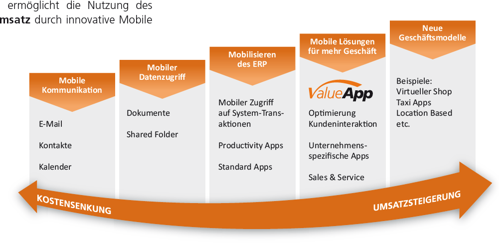 Positionierung der ValueApps 2013 SAP AG or