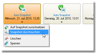 Backup & Recovery 10 Suite 151 Anwenderhandbuch 7.4.