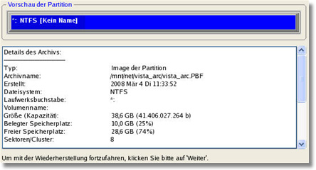 Backup & Recovery 10 Suite 212 Anwenderhandbuch 8.