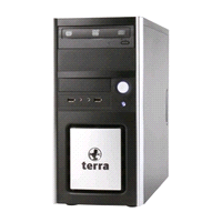 Kategorie TERRA PC-HOME TERRA PC-GAMER Format ATX/ µatx Art# CH1001205 CH1001202 CH1001206 CH1001199 CH1001204 CH1001207 CH1001204 CH1001207 TERRA PC-HOME 4000 Multimedia-PC inkl.