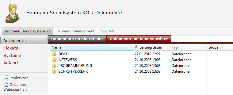 Dokumentenverwaltung Dokumentenverwaltung Nahtlose Integration in Microsoft Office Produkte