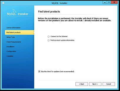 4 MySQL unter Windows Server 2012 4.