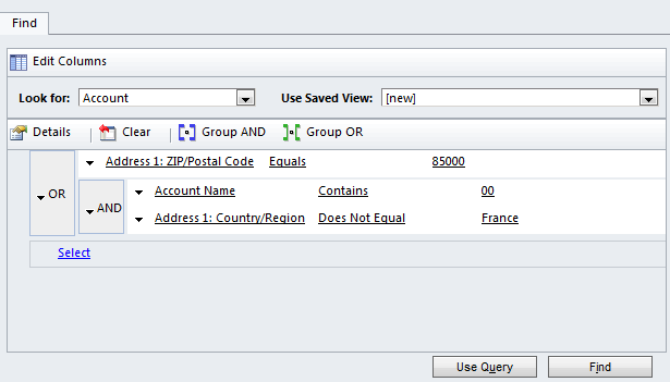 Click Manage Members in Ribbon: Define the query and save by clinking Use Query (you can check the correctness of your