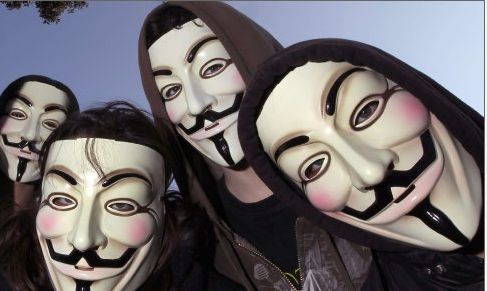 Motivation Protest - Anonymous in