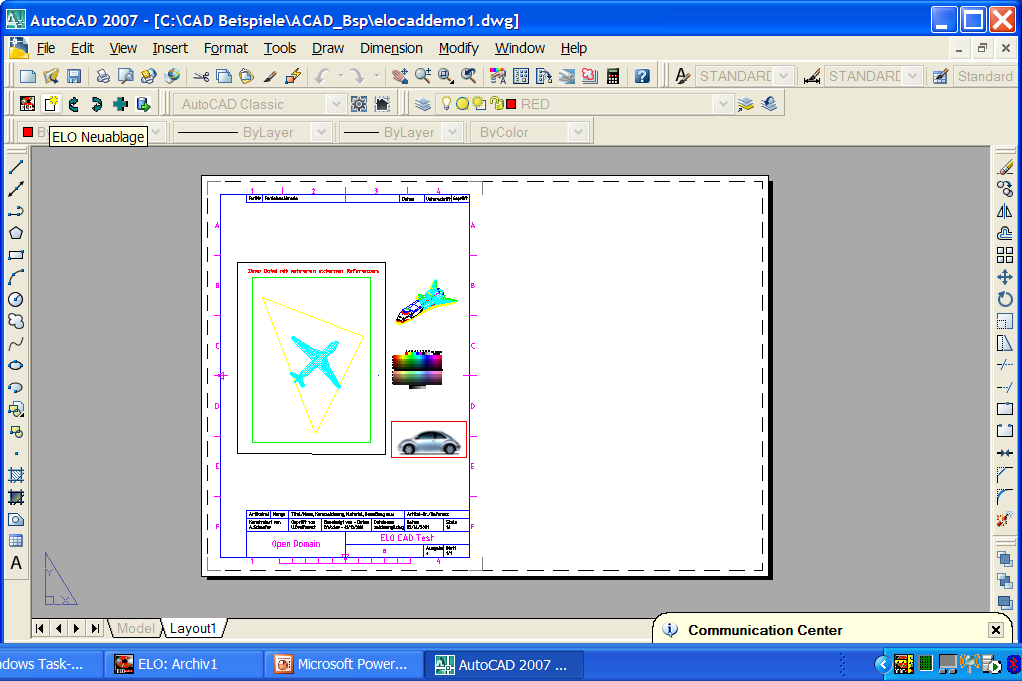 Autocad Schnittstelle Viewer-Anbindung edrawings Trueview Bentley View Rasterex etc.