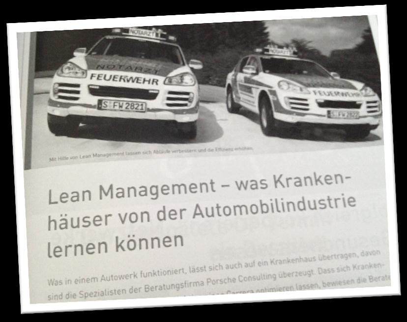 = schlankes Management Lean-Management / KAIZEN auch im