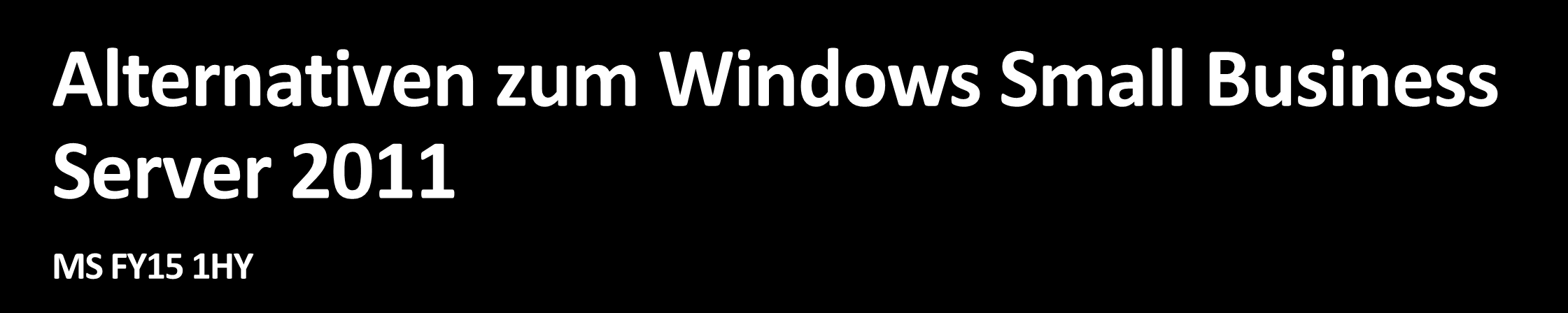 Windows Small
