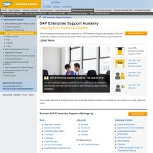 The SAP Enterprise Support Academy helps customers to Easily access SAP Enterprise Support services through a dedicated platform Up-skill