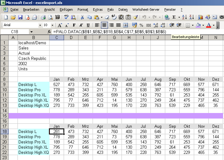 Palo for Excel. Fortgeschrittene Themen. Commercial Open Source ...