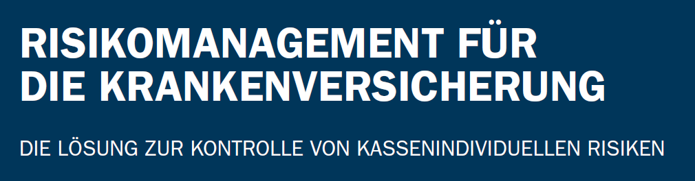 WILKEN RISIKOMANAGEMENT Branche: GKV