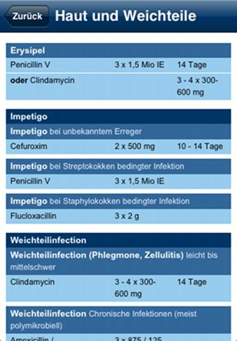 Antibiotika APP Antibiotika App von Eursafety Health-net Das Eursafety Health-net hat eine App