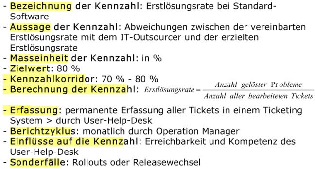 Kostenmanagement Seite 44 Analysebereiche von IT-Kennzahlen Aufteilung IT-Budget run the business 2/3 change the busienss 1/3 Beispiel -