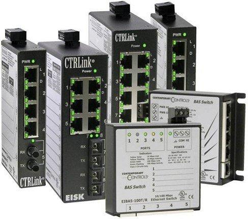 CTRLink Ethernet Built for Buildings Ein vollzähliges Sortiment an