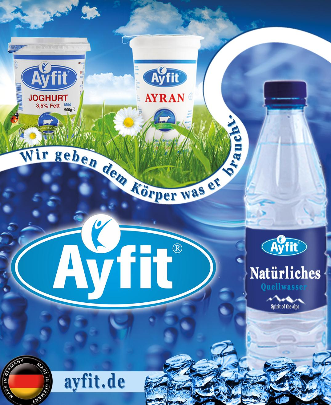 Exclusive Marketing Management MANDANT Ayfit Europa GmbH BRANCHE Hersteller Milchprodukten und