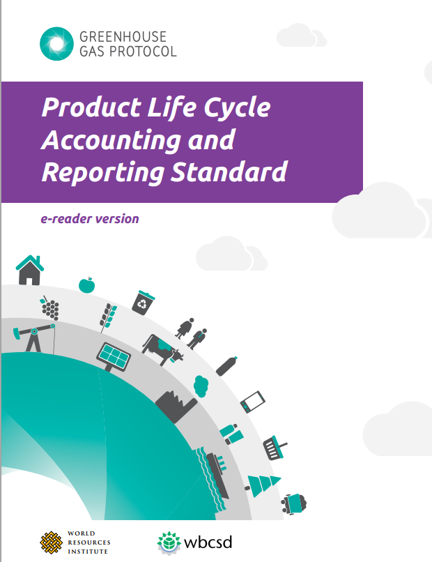 Life Cycle Accounting and Reporting Standard (2011) ISO TC