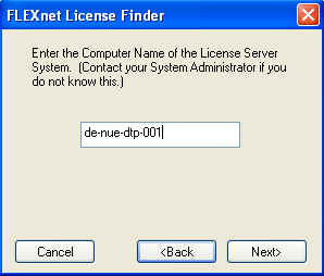 d) For first time starting go to tab Start/Stop/Reread and press the Start Server button to start the license server.