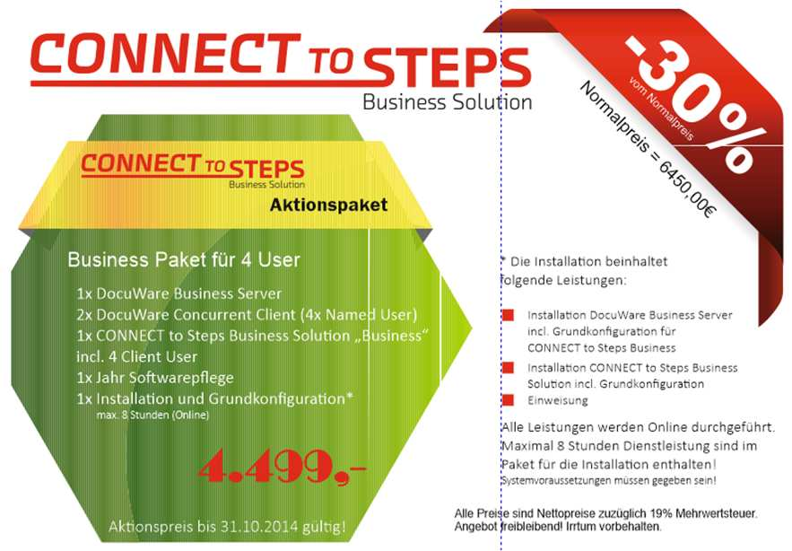 CONNECT to Steps Business