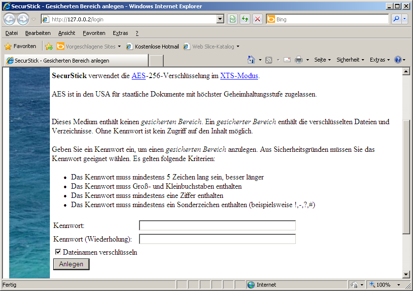 Der Standardbrowser Ihres Systems (Internet Explorer, Firefox, Chrome, Opera etc.