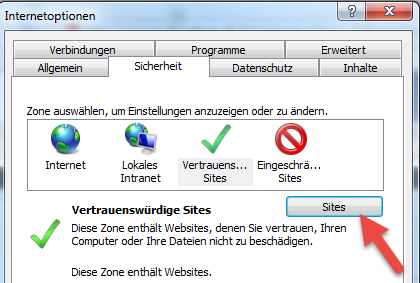 3 Konfiguration Internet Explorer 3.
