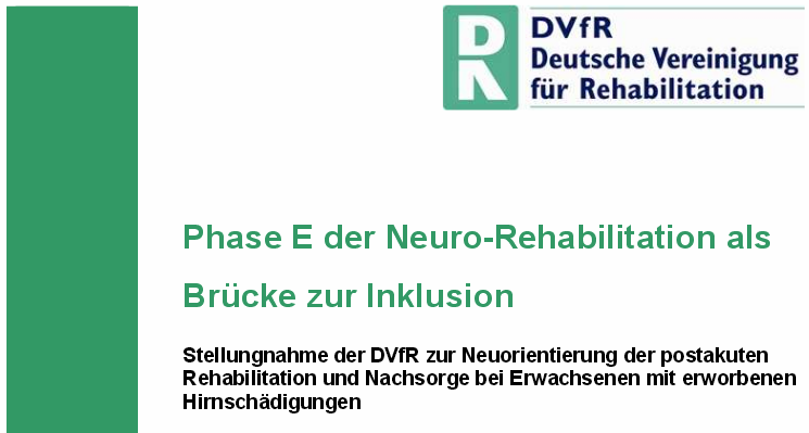 3 Phase E der Neuro-Rehabilitation