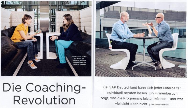 Individual Coaching for Everyone SAP Coaching Pool: internal coaches with a wellfounded education Topics like achieving life balance, career