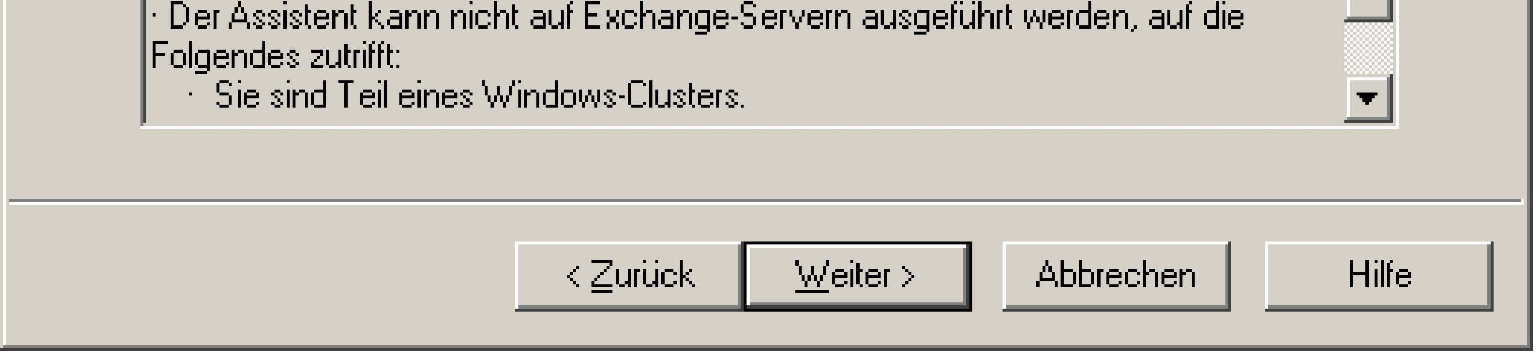 MSXFORUM - Exchange Server 2003 > SMTP Konfiguration von Exchange