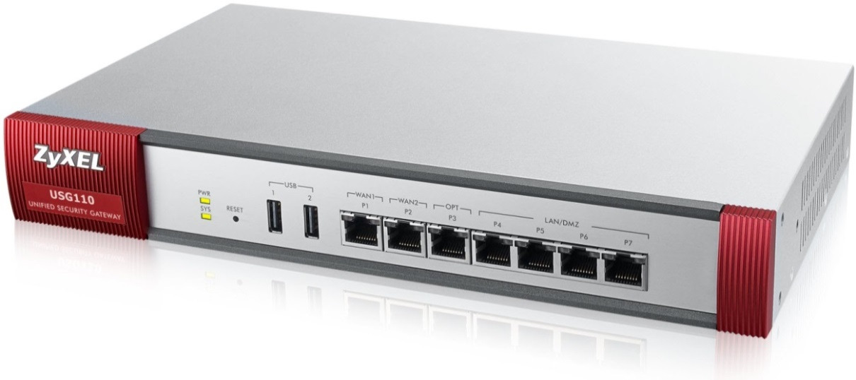 Unified-Threat- Management ZyXEL USG Firewall-Serie ab