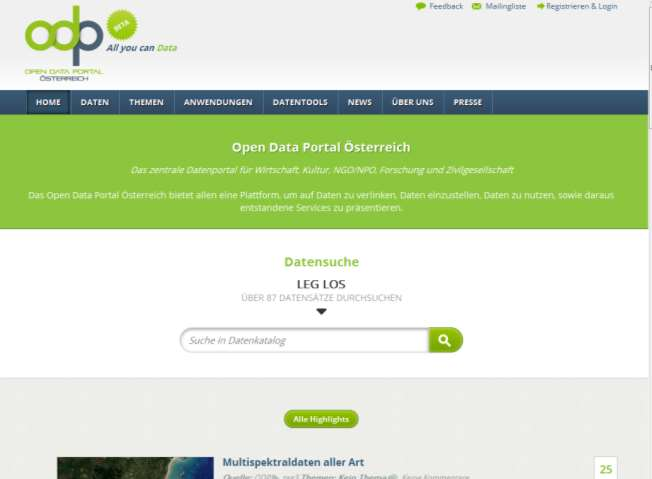 Opendata Portal ( non government