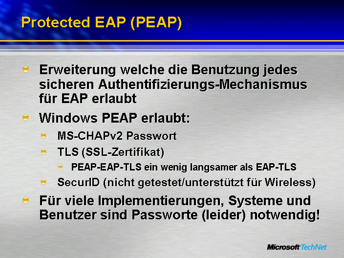 Protected EAP