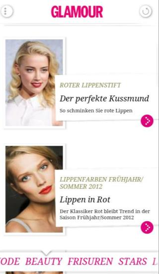 GLAMOUR App Leistungsdaten ios & Android Downloads ios Downloads: Android Downloads: 262.