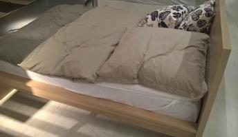 Highlights DB: Doppelbett Eiche, 140 x