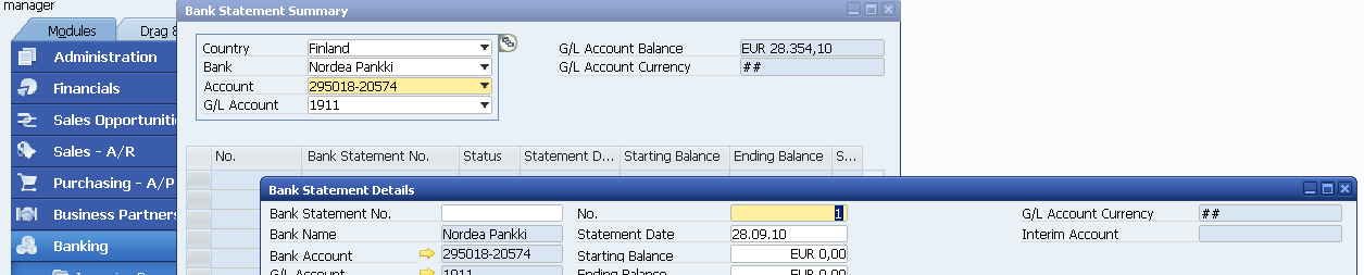 2.4. Bank Statement Processing