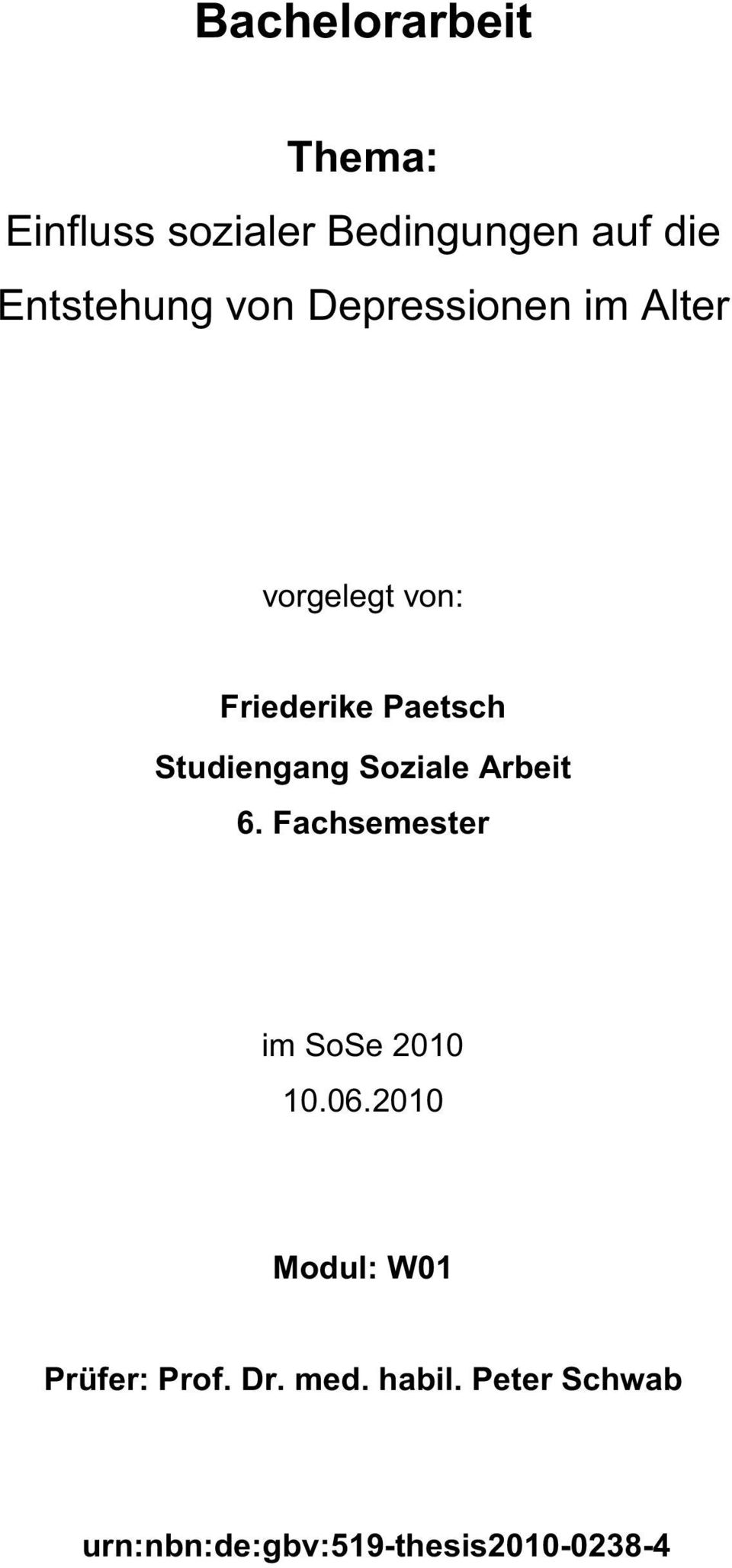 bachelor thesis fhnw soziale arbeit