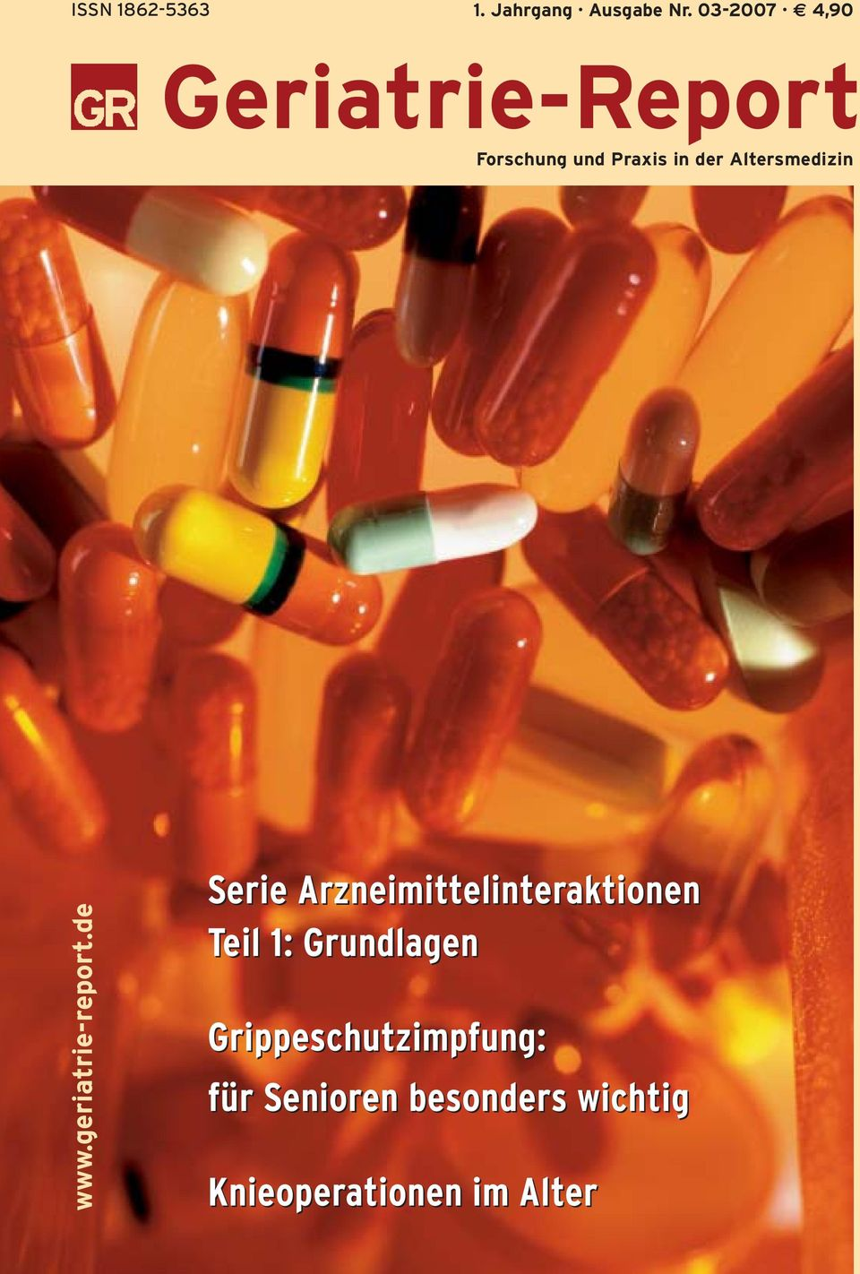 Altersmedizin www.geriatrie-report.