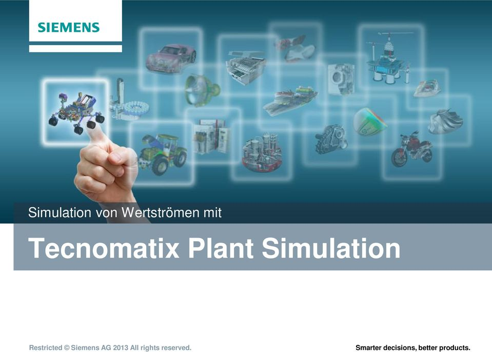 Restricted Siemens AG 2013 All