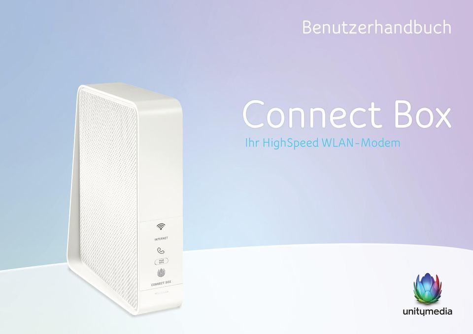 benutzerhandbuch connect box ihr highspeed wlan modem pdf. Black Bedroom Furniture Sets. Home Design Ideas