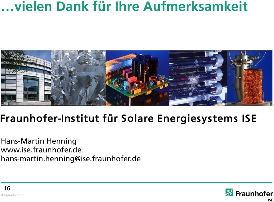 Energiesystems ISE Hans-Martin Henning