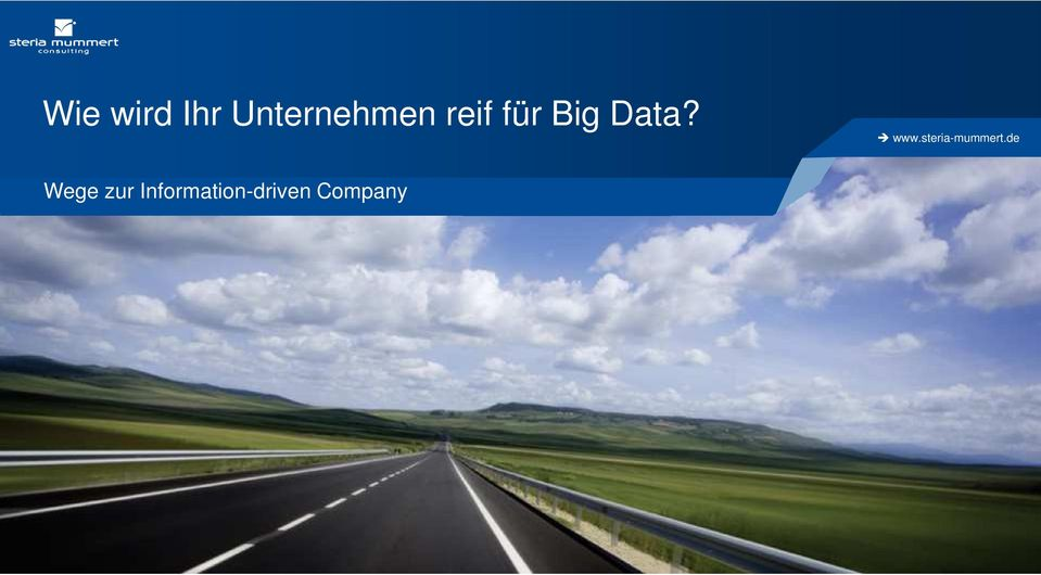 für Big Data?