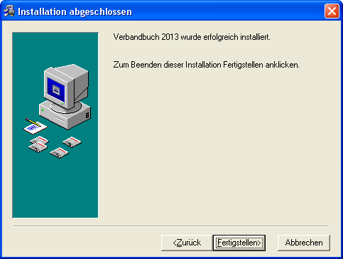 Verbandbuch-Software 2015-7 - 2 Installation und Start 2.1 Installation 1. Installations-Infos Legen Sie die CD in das CD-ROM Laufwerk des PCs. Das Installationsprogramm startet automatisch.