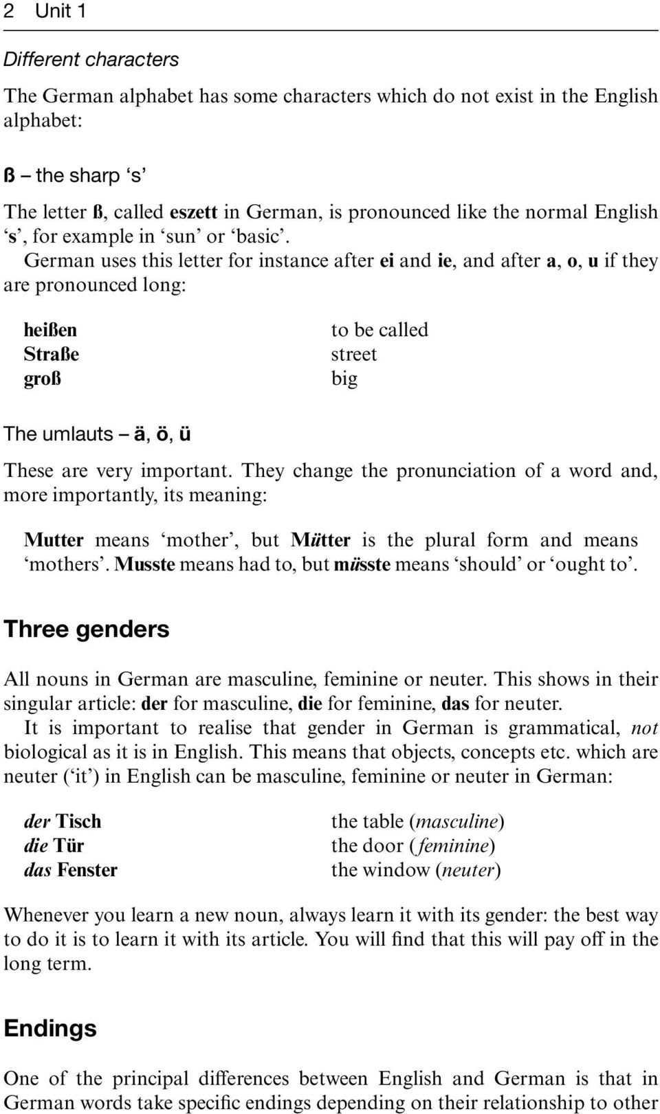 Basic german a grammar and workbook pdf german uses this letter for instance after ei and ie and after a o kristyandbryce Choice Image