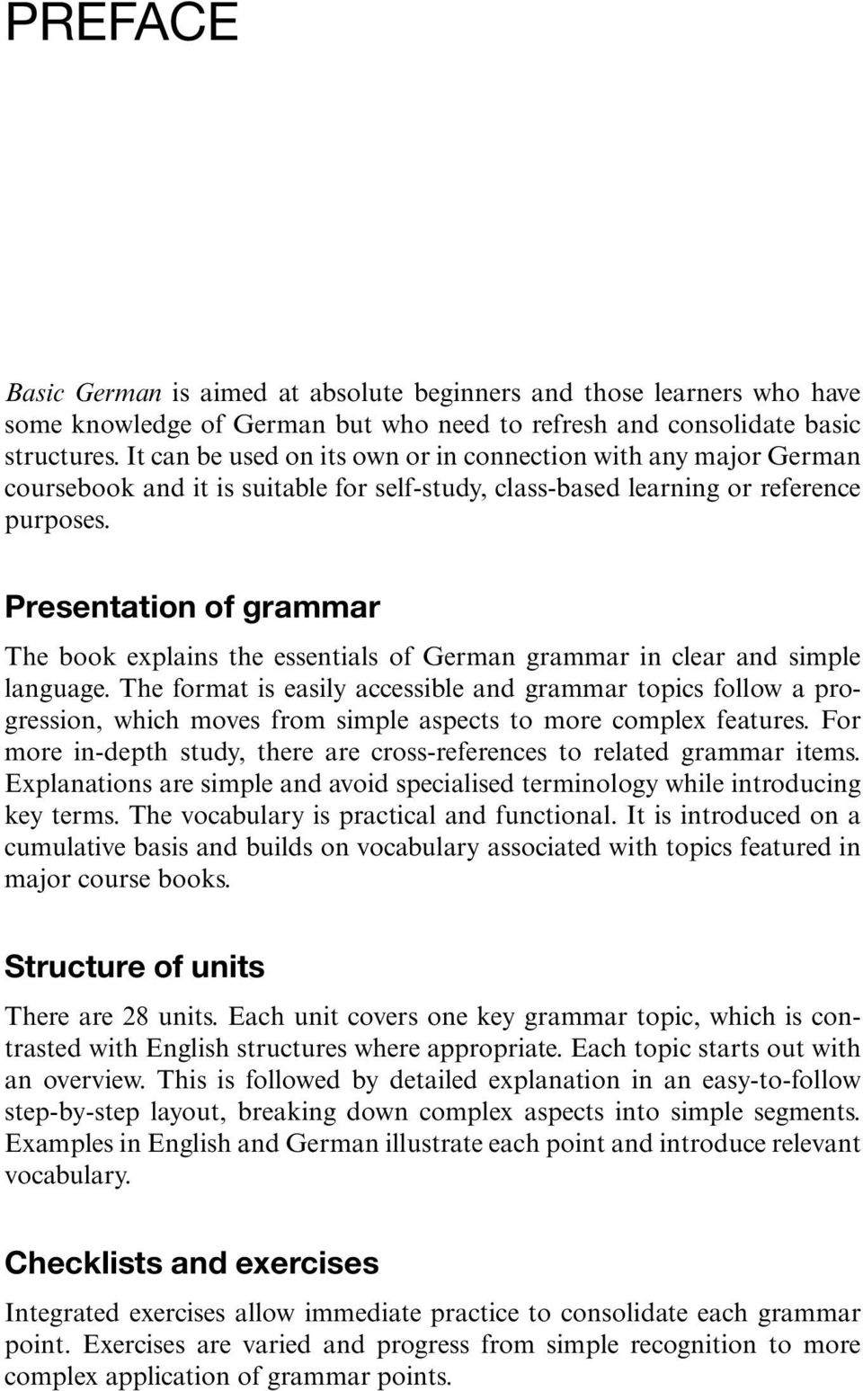 Basic german a grammar and workbook pdf presentation of grammar the book explains the essentials of german grammar in clear and simple language kristyandbryce Choice Image