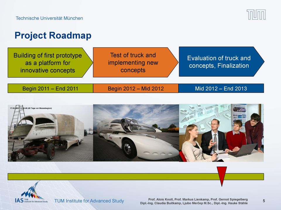 new concepts Evaluation of truck and concepts,