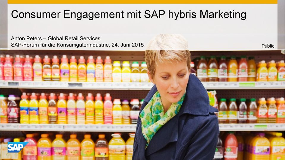 Retail Services SAP-Forum für die