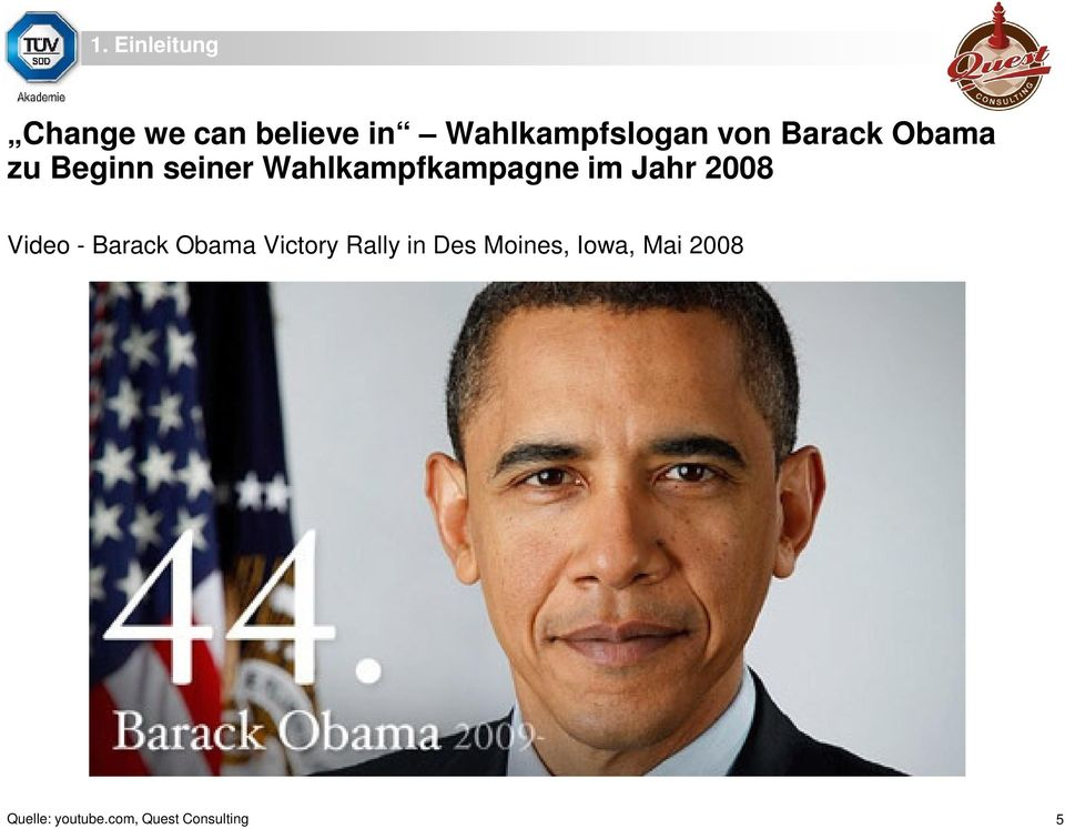 Jahr 2008 Video - Barack Obama Victory Rally in Des