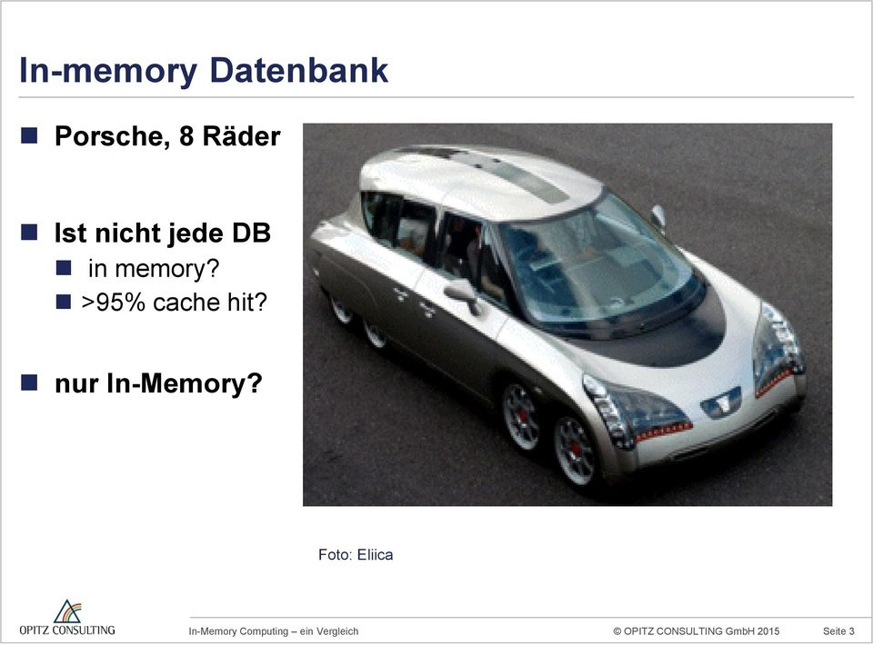 >95% cache hit? nur In-Memory?