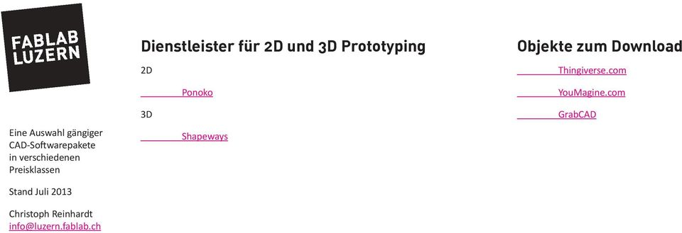zum Download Thingiverse.