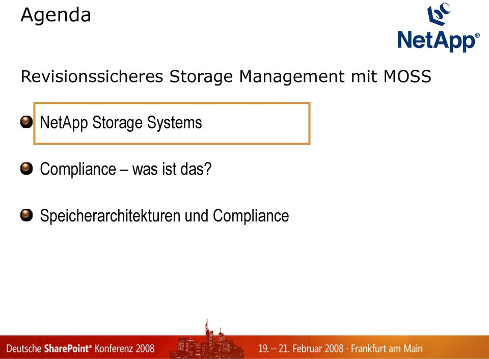 Storage Systems Compliance was