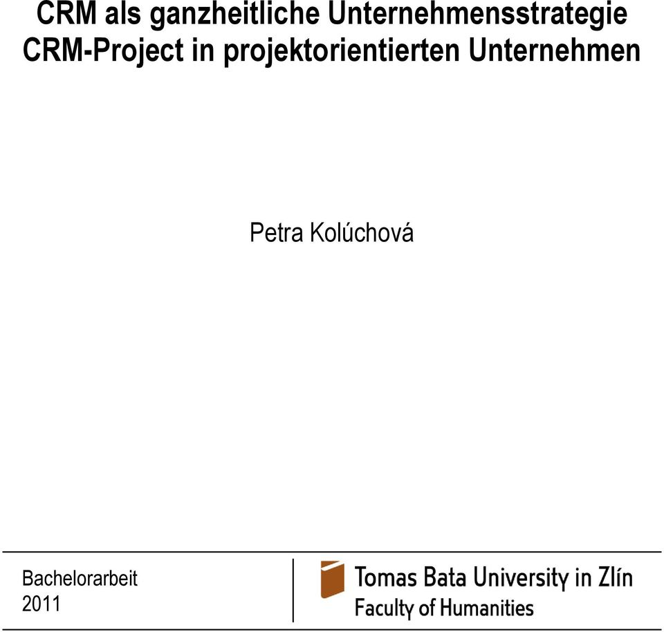 CRM-Project in