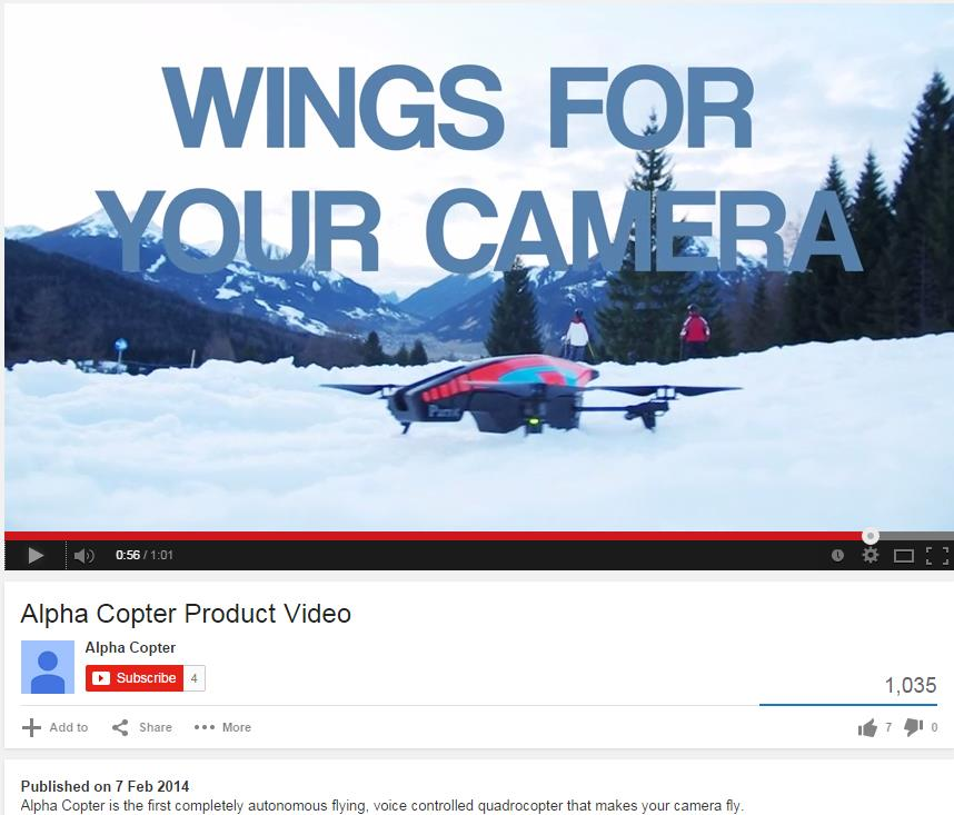 Product Example: Alpha Copter